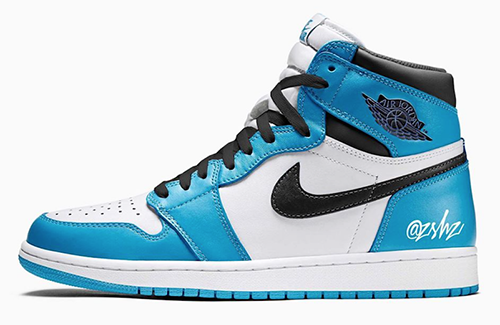 Air Jordan 1 White University Blue 2021 Release Date