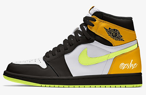 Air Jordan 1 White Volt University Gold Black 2021 Release Date