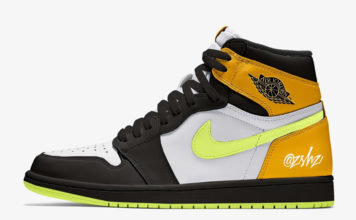 Air Jordan 1 White Volt University Gold Black 555088-118 Release Date Info