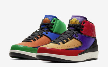 Air Jordan 2 Multicolor CT6244-600 Release Date