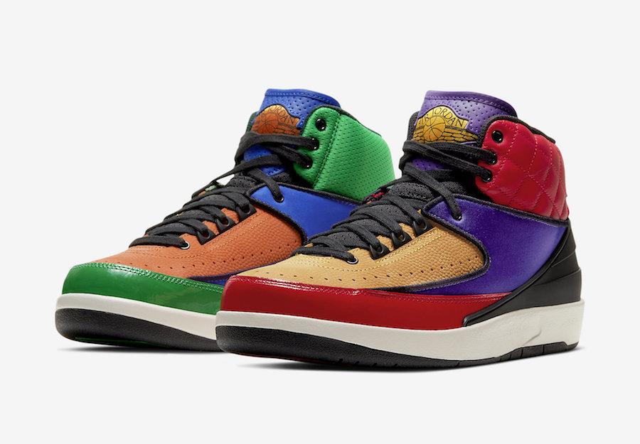 Air Jordan 2 Multicolor CT6244-600 Release Date