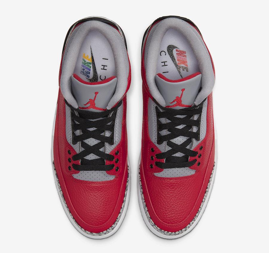 Air Jordan 3 NIKE CHI Chicago All-Star CU2277-600 Release Date Info
