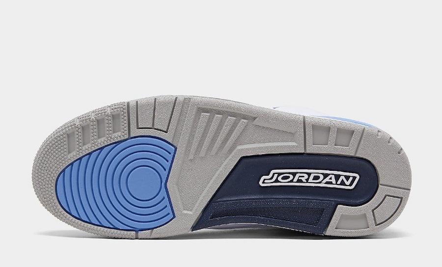 Air Jordan 3 UNC Tar Heels CT8532-104