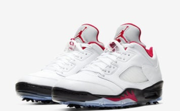 Air Jordan 5 Low Golf Fire Red CU4523-100 Release Date