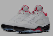 Air Jordan 5 Low Golf Fire Red CU4523-100 Release Date Info