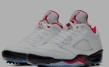 Air Jordan 5 Low Golf Fire Red CU4523-100 Release Date Info