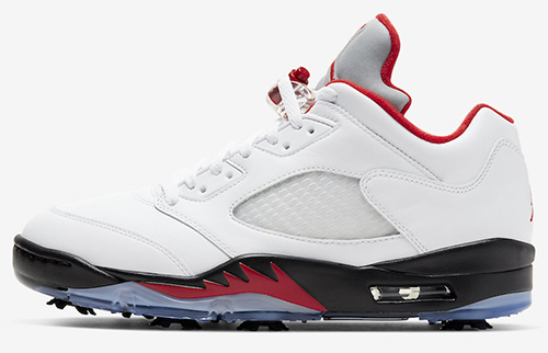 Air Jordan 5 Low Golf Fire Red Release Date