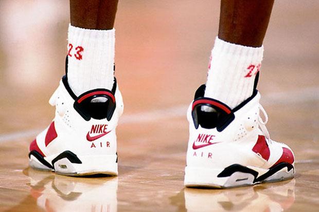 Air Jordan 6 Carmine Michael Jordan 1991