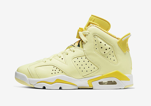 Air Jordan 6 GS Floral Crimson Tint Dynamic Yellow Release Date
