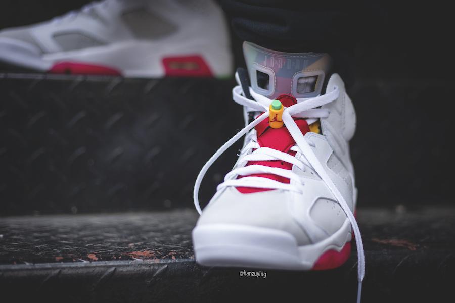 Air Jordan 6 Hare CT8529-062 On Feet