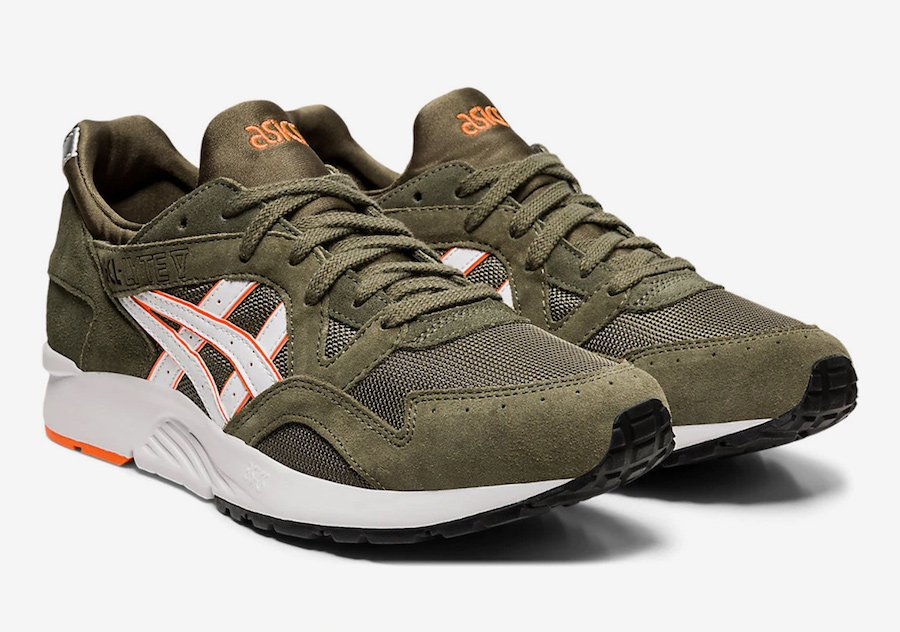 Asics Gel Lyte V 'Mantle Green' Available Now