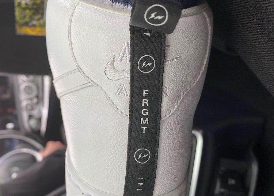 Fragment Nike Air Force 1 High
