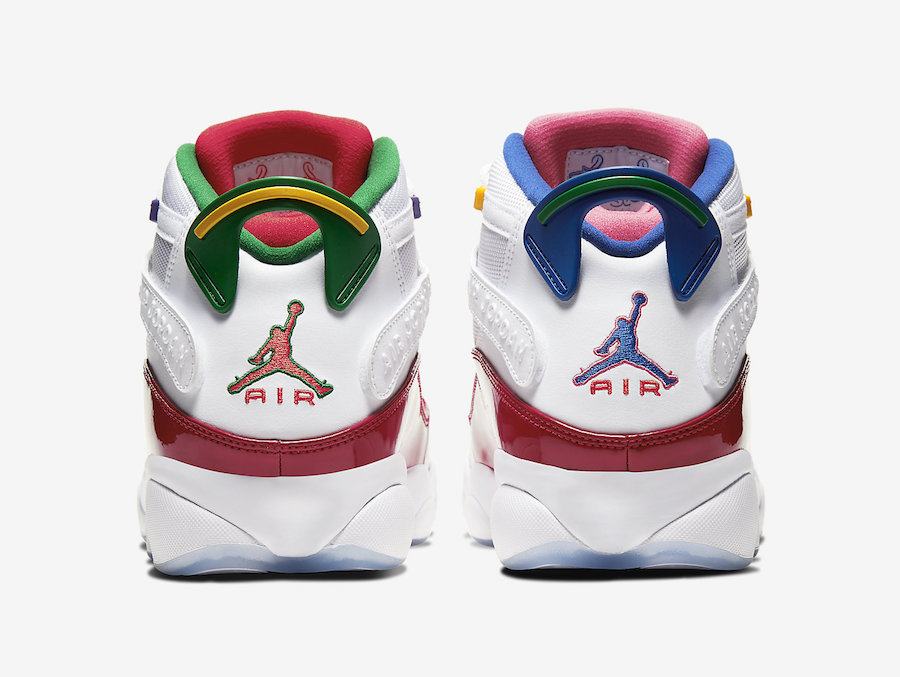 Jordan 6 Rings Multicolor CW7003-100 Release Date Info