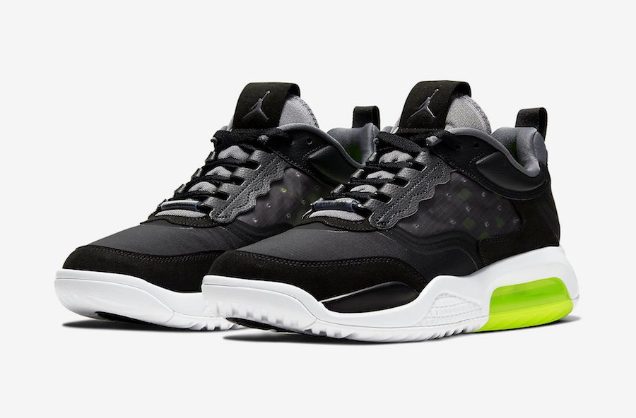Jordan Air Max 200 Available in Black and Volt