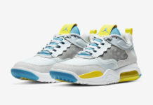 Jordan Air Max 200 White Blue Yellow CD6105-004 Release Date Info