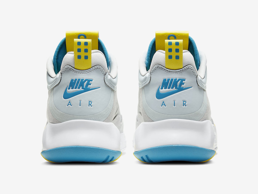 Jordan Air Max 200 White Blue Yellow CD6105-004 Release Date Info