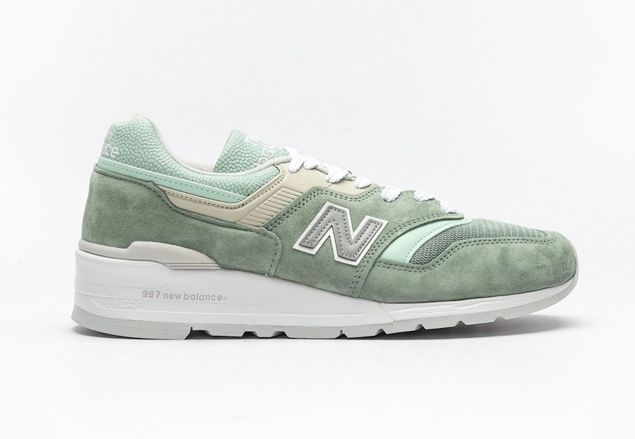 New Balance M997 SOB Light Green Release Date Info