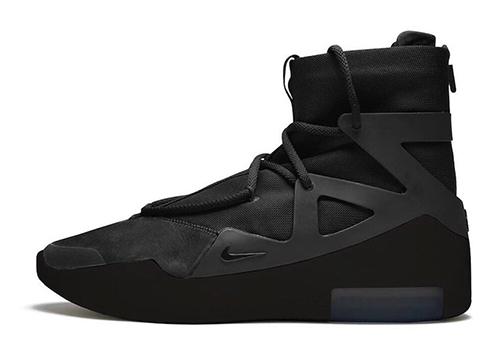 Nike Air Fear of God 1 Triple Black Release Date
