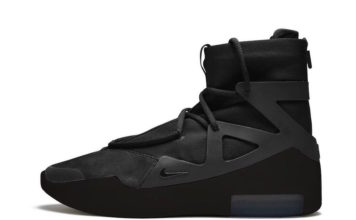 Nike Air Fear of God 1 Triple Black Release Date Info
