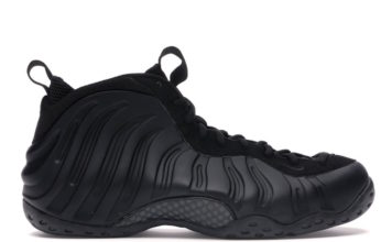 Nike Air Foamposite One Anthracite Blackout 2020 314996-001 Release Date Info