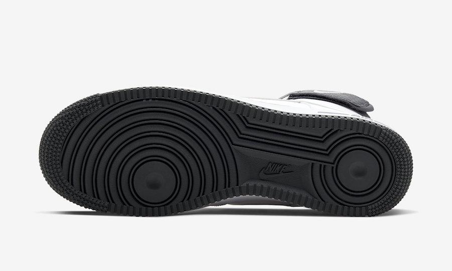 Nike Air Force 1 High White Charcoal CD0910-100 Release Date Info