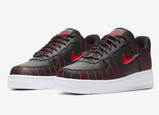 Nike Air Force 1 Jewel Chicago Blue University Red CU6359-001 Release Date Info
