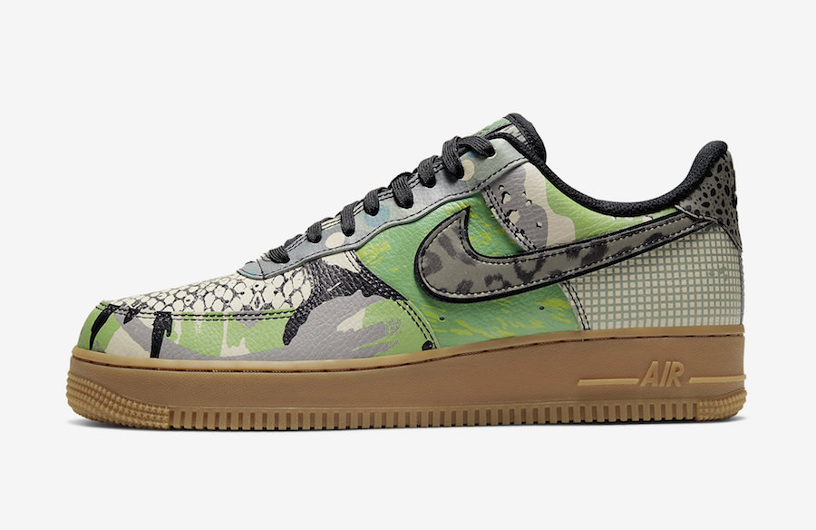 Nike Air Force 1 Low City of Dreams Green Spark CT8441-002 Release Date