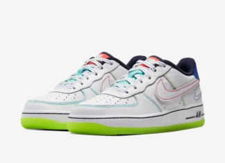Nike Air Force 1 Low Outside The Lines CV2421-100 Release Date Info