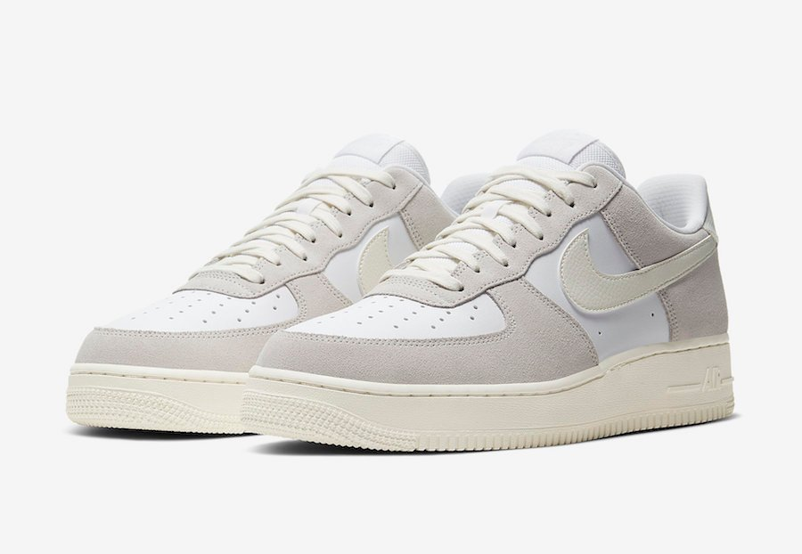 Nike Air Force 1 Low Platinum Tint CW7584-100 Release Date Info