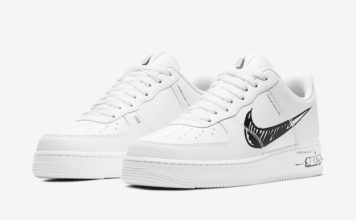 Nike Air Force 1 Low Sketch White Black CW7581-101 Release Date Info