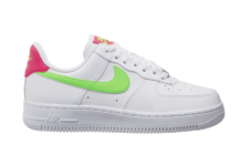 Nike Air Force 1 Low White Laser Crimson Green Strike CT4328-100 Release Date Info