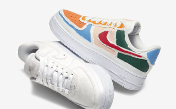 Nike Air Force 1 Multi-Color Tear Away CJ1650-101 Release Date Info