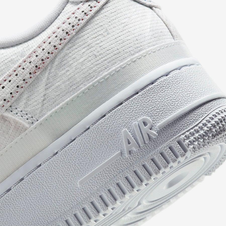 Nike Air Force 1 Multi-Color Tear Away CJ1650-101 Release Date Info