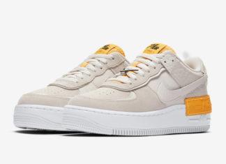 Nike Air Force 1 Shadow Beige Orange CU3446-001 Release Date Info