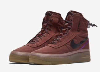 Nike Air Force 1 Shell Brown Gum BQ6096-200 Release Date Info