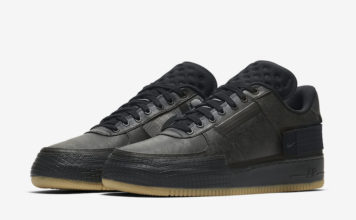 Nike Air Force 1 Type Black Gum CJ1281-001 Release Date Info