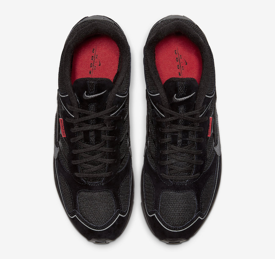 Nike Air Ghost Racer Black Habanero Red CW8621-001 Release Date Info