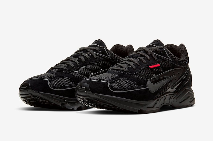 Nike Air Ghost Racer Black Habanero Red CW8621-001 Release Date Info | SneakerFiles