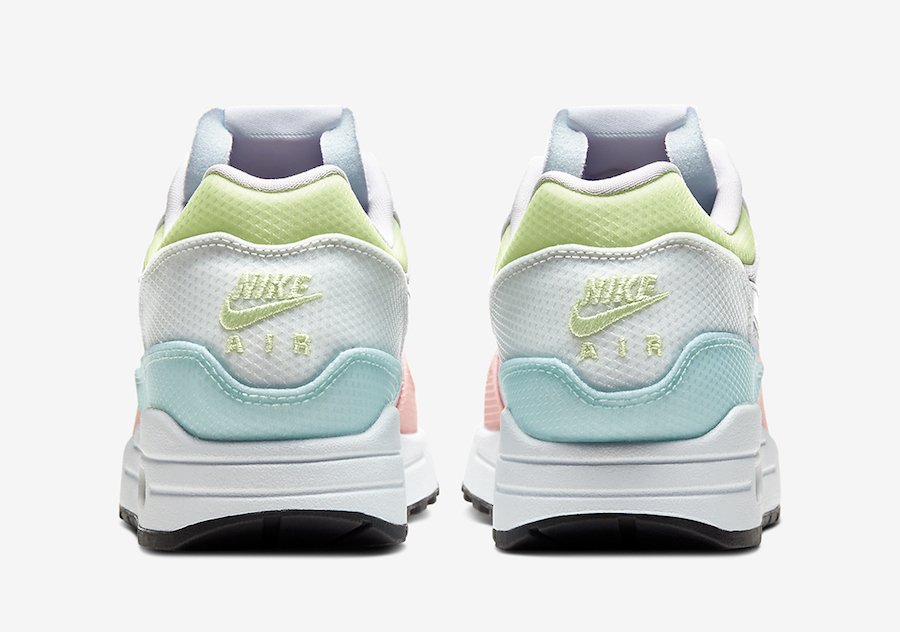 Nike Air Max 1 with Pastel Shades and an Iridescent Swoosh