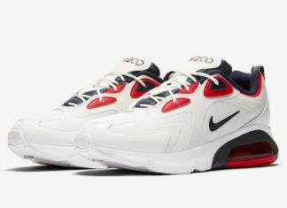 Nike Air Max 200 USA White Navy Red CT1262 101 Release Date