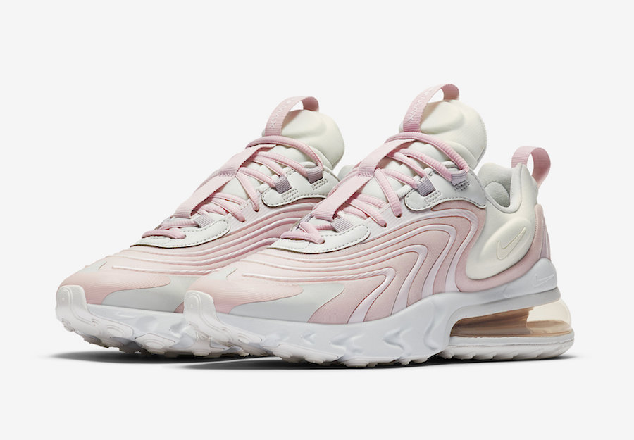 Nike Air Max 270 React ENG Barely Rose CK2595 001 Release
