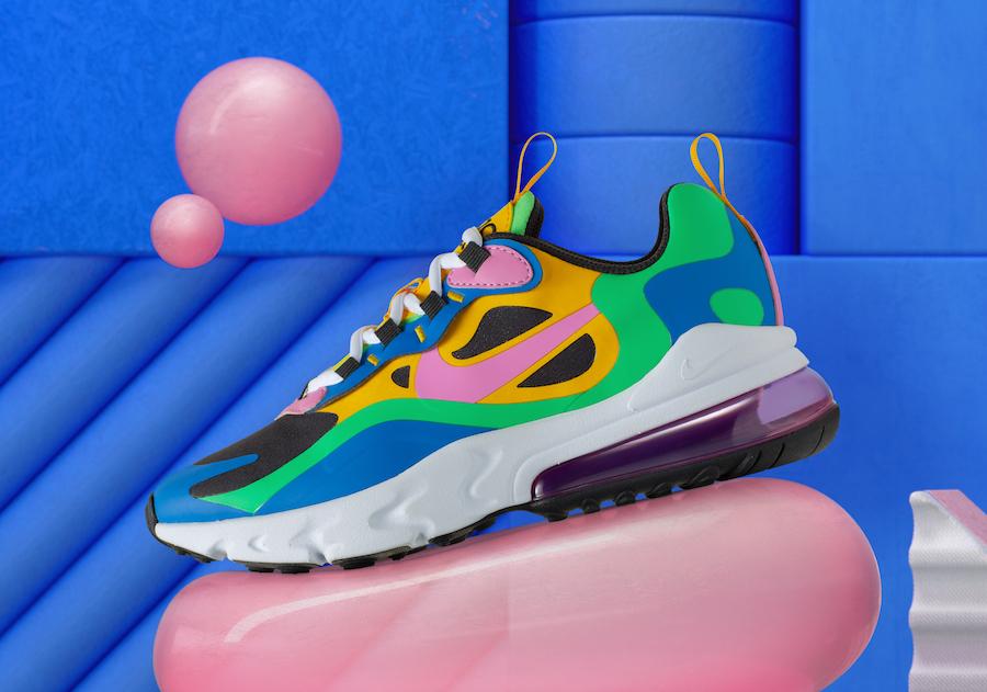 Nike Air Max 270 React Gumball