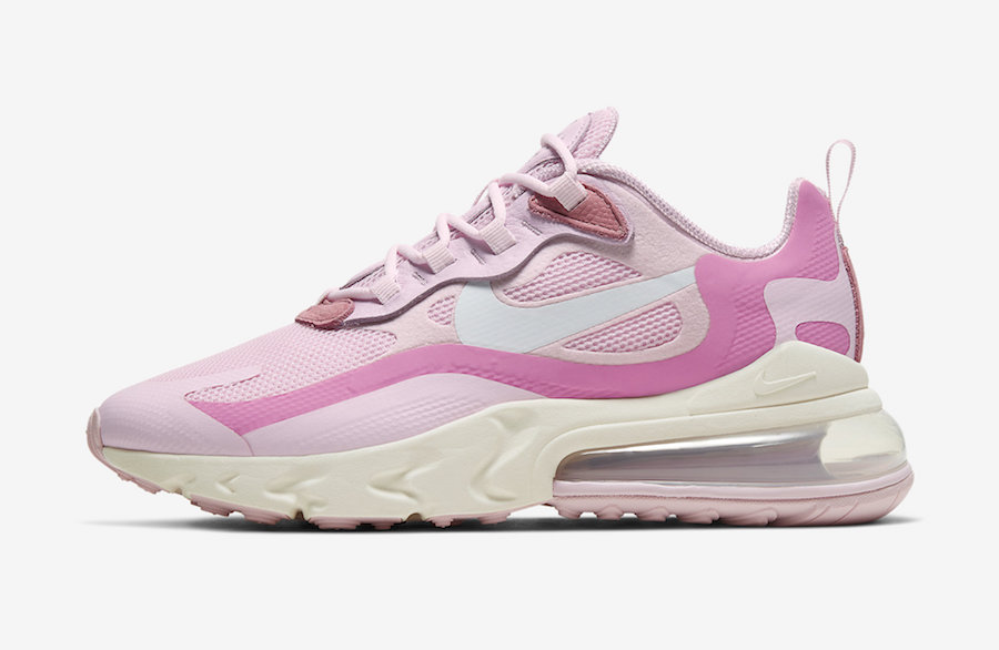 Nike Air Max 270 React Pink CZ0364-600 Release Date Info