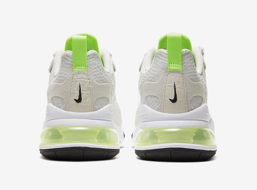 Nike Air Max 270 React Vast Grey Ghost Green CU3447-001 Release Date Info