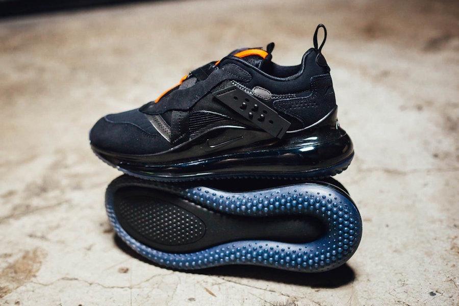 Nike Air Max 720 OBJ Slip Black Team Orange DA4155-001 Release Date Info