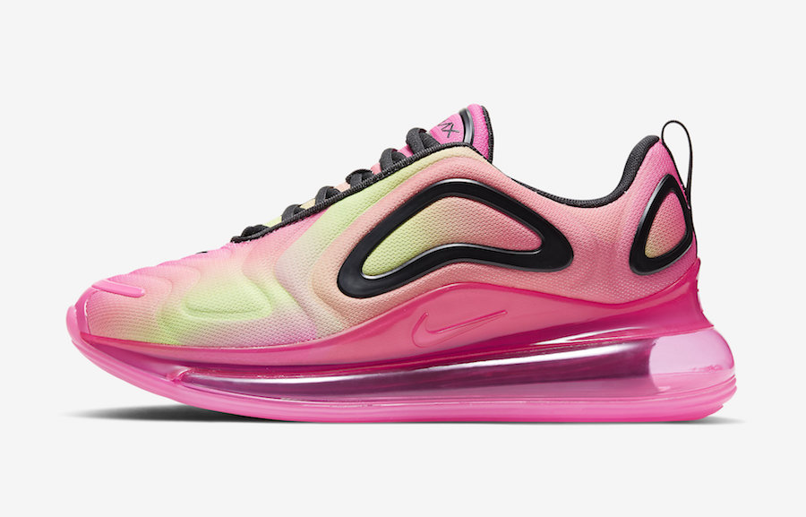 Nike Air Max 720 Pink Volt Black CW2537-600 Release Date Info
