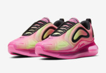 Nike Air Max 720 Pink Volt Black CW2537-600 Release Date Info