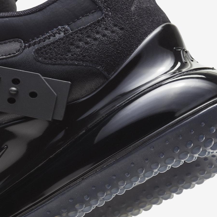 Nike Air Max 720 Slip OBJ Black DA4155-001 Release Date