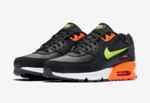 Nike Air Max 90 Black Orange Volt CV9643-001 Release Date Info