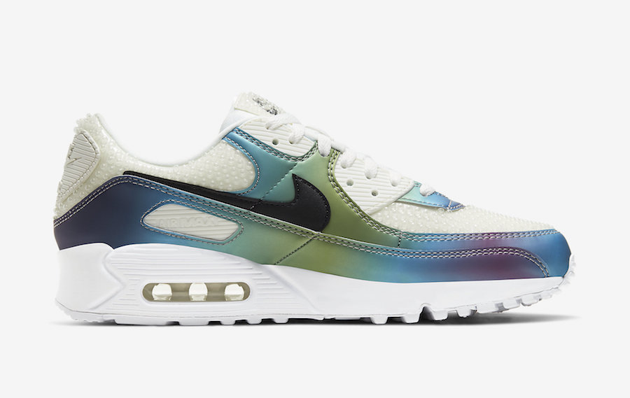 Nike Air Max 90 Bubbles Summit White CT5066-100 Release Date Info